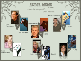 Character Actor meme by forestwind48
