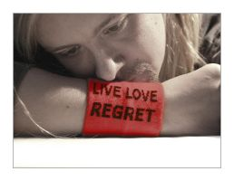 Live Love Regret by Pixelcoma
