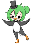 P is for Penguin by attycakes