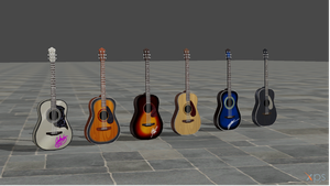 TS4 Acoustic guitar pack by ParametricEQ