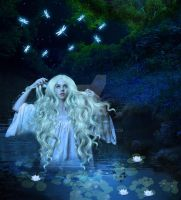 Ophelia's Lament (close up) by BBstar7