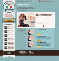 Webdesign Les Malices by Mstarback