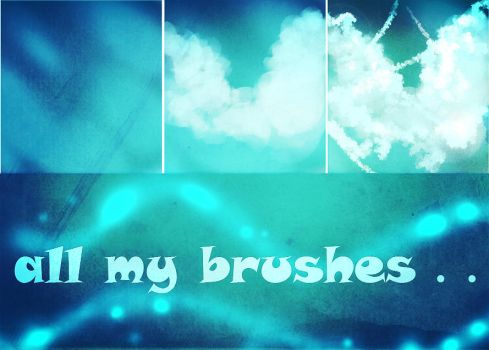 RYKY - all my Photoshop brushes by ryky