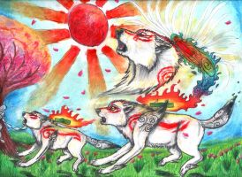 Lineage of the Sun by wolffoxin