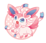 favorite Fairy: Sylveon by EvilQueenie