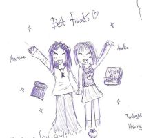 Me and my best friend by yom100