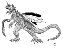 Kaiju Commissions - Reaper by Bracey100
