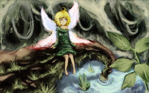 Forest Angel by Miamelly