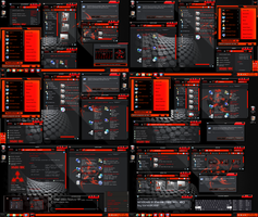 windows 8 theme Xux Ek (Red) by tono3022