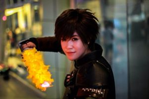 Hiccup -fire sword- cosplay by Snowcupid