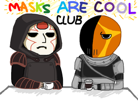 Masks are Cool by Mayonaka-Zetsubo