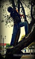 Ivan CB Mascara de Gas Tree Bench 005 by POKETAZ