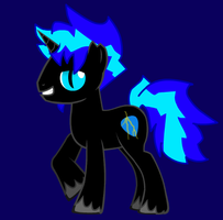 Black Napalm's new look (pony creator example) by BlackNapalmPony