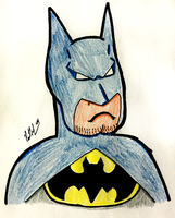 Holy Bulky Chin Batman by chelano