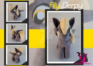 Derpy Hooves - plush FOR SALE by FurryFursuitMaker