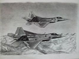 F22 Raptor by solidx86