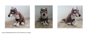 .: Sitting Balto plush :. by Dunkin-Prime