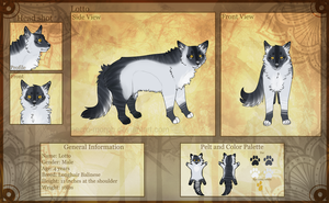 :Commission: Lahtiirah reference sheet by elsens