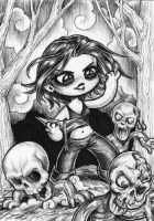 Night of the Chibi Dead by dpdagger