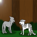 WCC Scene- Dovepaw and Ivypaw by BleachTheNight