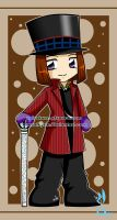 chibi willy wonka by BlueValkyrie