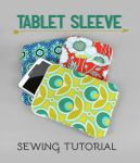 Tablet Sleeve Sewing Pattern by SewDesuNe