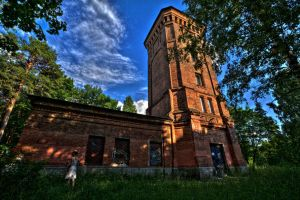 Old Water Tower by Foto-Hunter