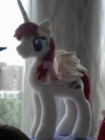 Fausticorn Plushie by AllysonCarver