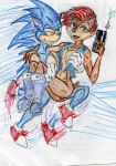 Sonic and Sally by theaven