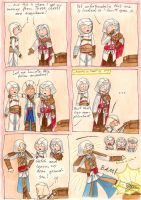 Assassins vs. Chest by FeaelSilmarien