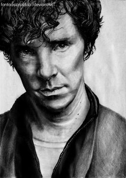 Sketch 6 : Benedict Cumberbatch by Fantaasiatoidab