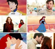 ariel and Prince-Eric love by countrygirl16mj