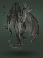 Commission - Dragon by Mikaley