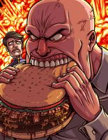 The Burger Wars by Kaigetsudo