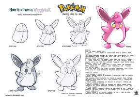How to draw Wigglytuff Pokemons by celaoxxx