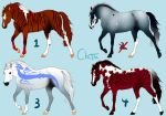 :: unnatural equine adopts :: 15 by KamikazeOverMe