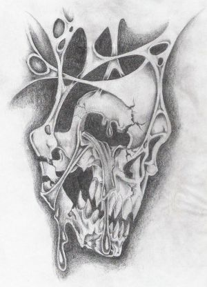 Skull Tattoos and Tattoo Designs | Bullseye Tattoos: Skull tattoos