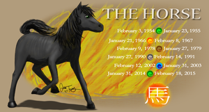 Year of the Horse by BlazeTBW
