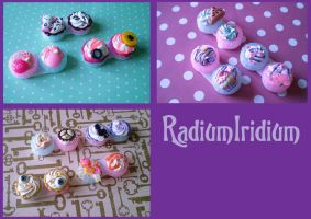 Cutie contact cases by RadiumIridium
