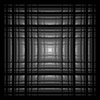 Perspective aperiodic grating by markdow
