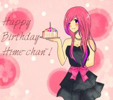 _::HAPPY BIRTHDAY HIME-CHAAAAAAN!::_ by scarlet-glow