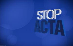 Stop ACTA Blu by Snakesan