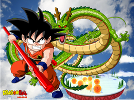 Dragonball Kid Goku by Tp1mde