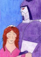 Kate and Cyclonus by Blackwitch31