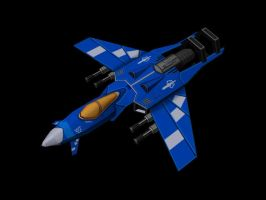 Falcon Interceptor by PandaProduction