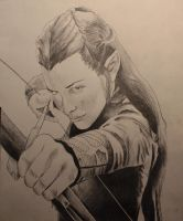 Evangeline Lilly as Tauriel. by 11by