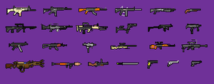 VCT:MO Weapons by 8feet