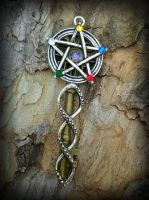 5 Elements Fantasy Key by ArtByStarlaMoore