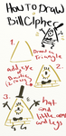How to draw Bill Cipher by cartoonwho
