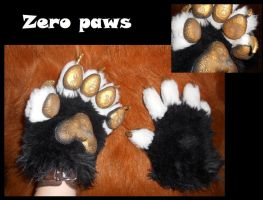 Toon Zero paws by Sharpe19